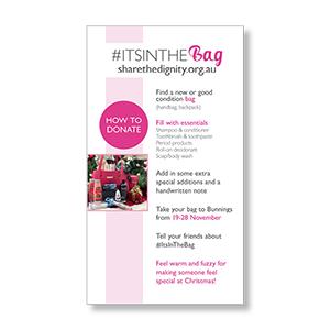 #ItsInTheBag story (single)