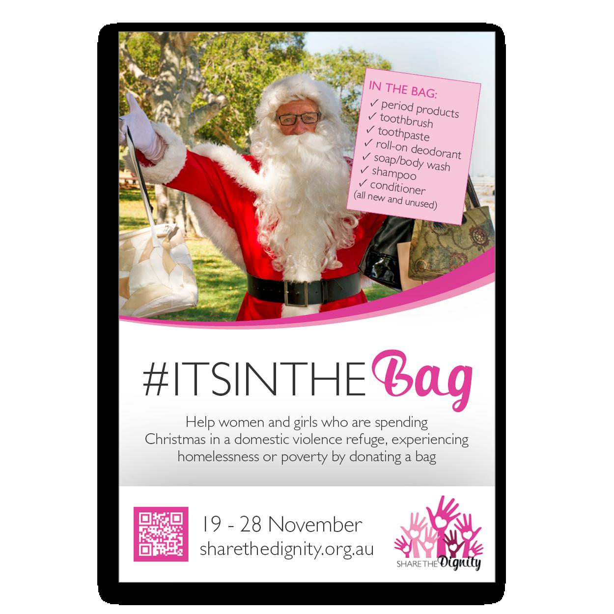 #ItsInThe Bag - poster