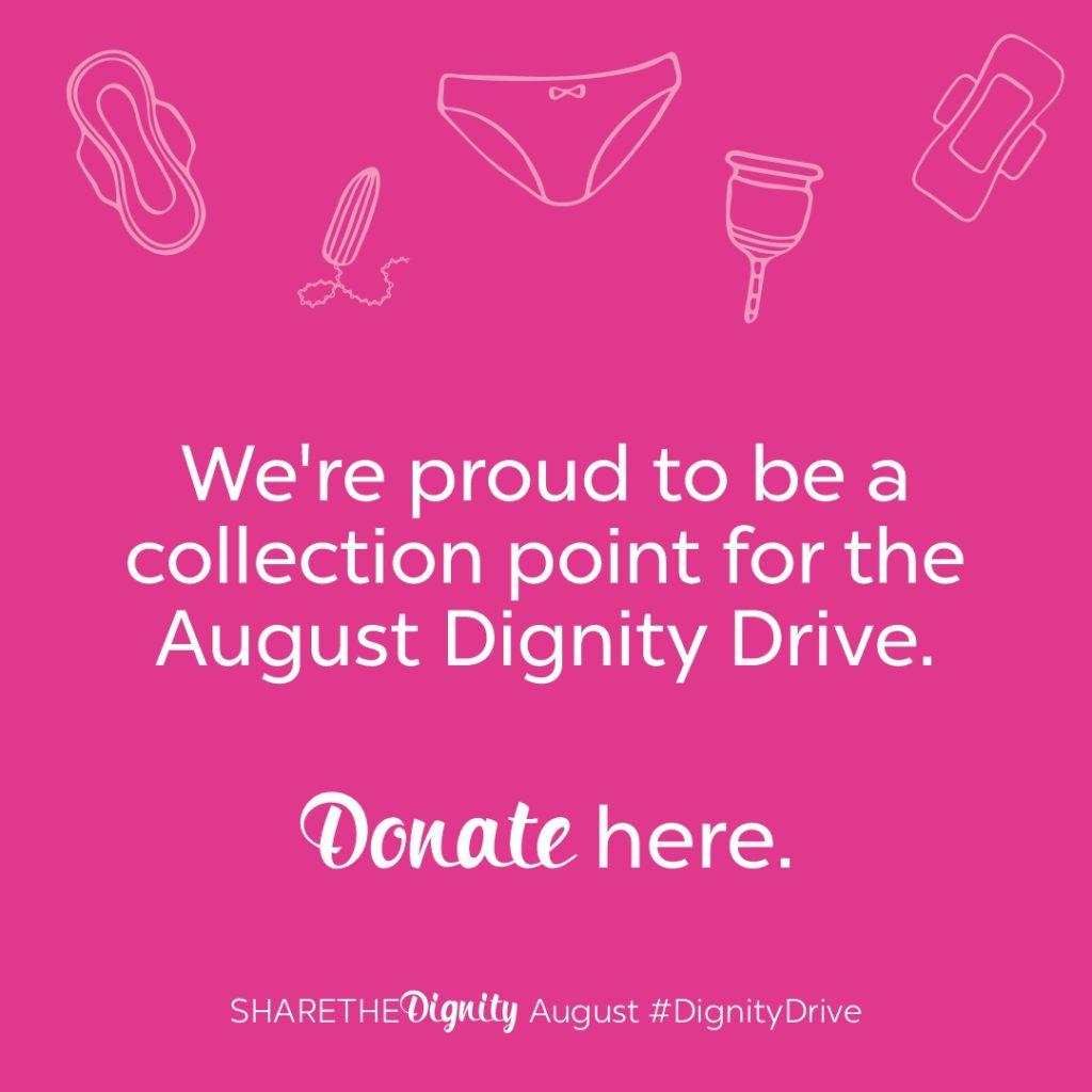 Dignity Drive Social Media Tile 1