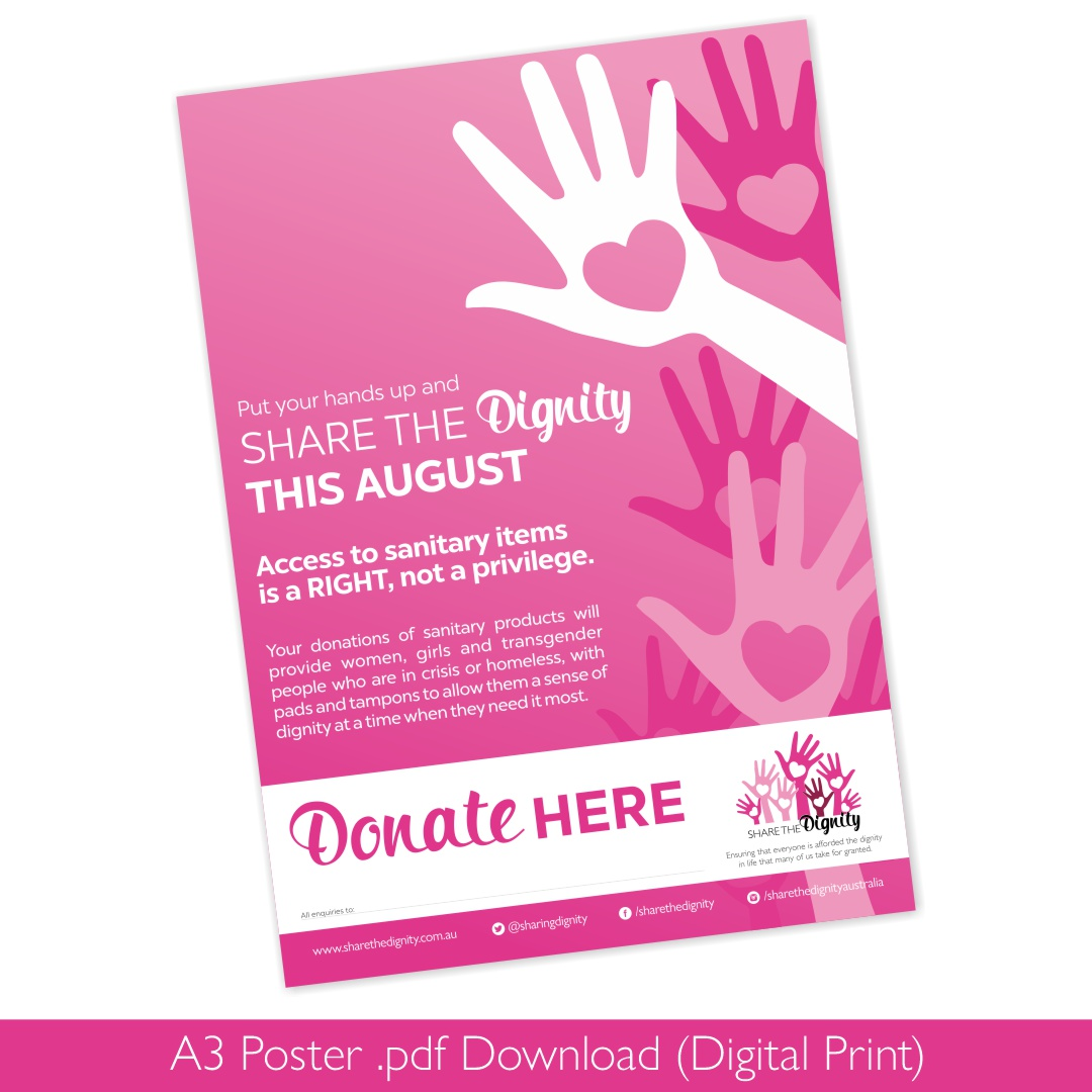 Dignity Drive A3 Poster (August 2020)