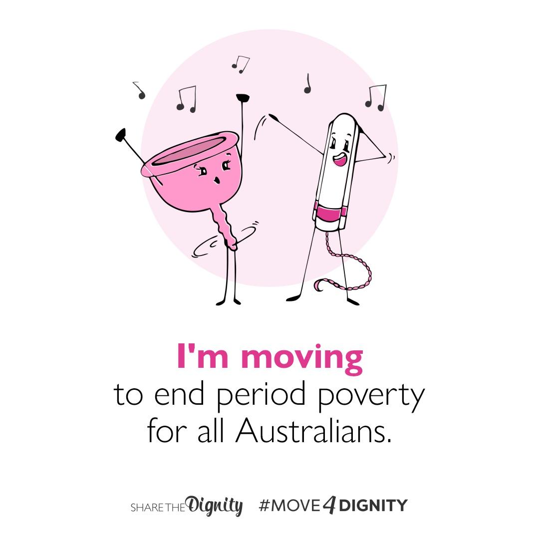 Move4Dignity - I'm moving - social media tile